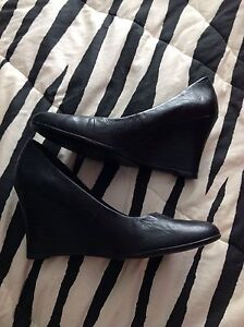 Brand new black shoes