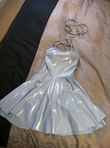 Ice blue Zouk/latin/contemporary dress size 6 or 8 Melbourne CBD Melbourne City Preview