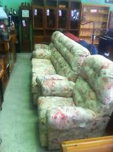 Floral lounge suite & recliners Invermay Launceston Area Preview