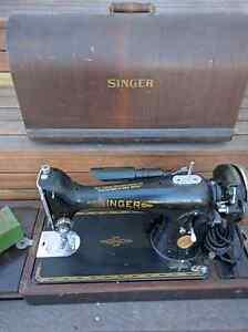 Antique Singer Sewing Machine 201K Hamilton Newcastle Area Preview