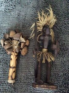 Authentic Maraca's and warrior for sale