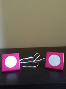 Pink Aux connected speakers - Great Condition