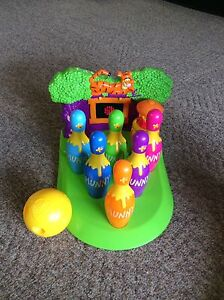 Winnie the pooh animated bowling set