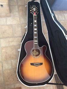 D'Angelco Acoustic Electric Guitar