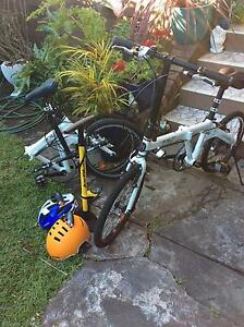 2 Hasa F1 Shimano top of the range folding bicycles plus Petersham Marrickville Area Preview