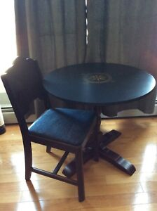 Little nautical table and chair  (Still Available)