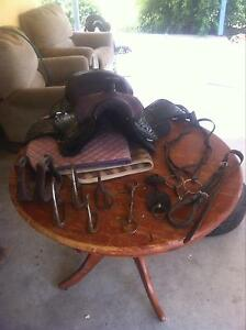 Bunch of horse gear, $228 for the lot saddle, bit, pads... Ballogie South Burnett Area Preview