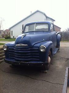 1953 chevy truck 3100/projet (avec papier)
