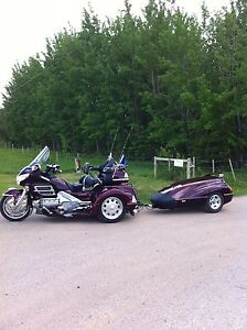 2006 Honda GL1800A with tow trailer