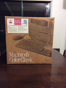 APPLE MACINTOSH COLOUR CLASSIC 1993 (Very Rare) Mount Barker Mount Barker Area Preview