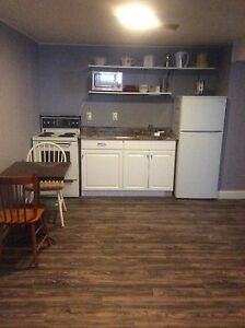 1  bedroom furnished  basement apartment $750 all inclusive