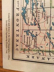 Old Maps of Algonquin Park & Ontario London Ontario image 4