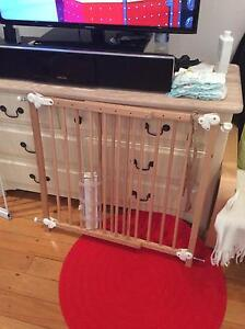 3 baby safety gate for sale wood or metal Mosman Mosman Area Preview