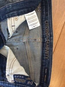Distressed Rocket High Rise Skinny Jeans Citizens of Humanity