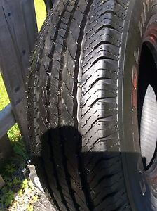 Truck tire new 16 inch 10 ply