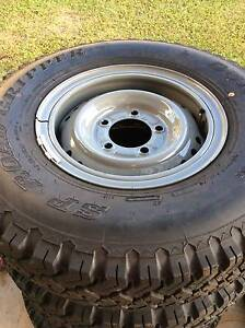 Land Cruiser RIMS AND TYRES Mount Sheridan Cairns City Preview
