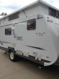 Caravan Pop Top 14ft, single axle, extendable van to 17ft 3ins Redland Bay Redland Area Preview