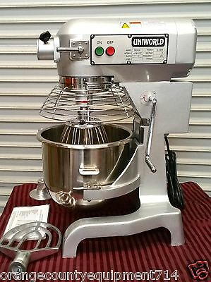 New 20 Qt Mixer Accessories Uniworld Upm-20e Dough Nsf 2471 Commercial Bakery