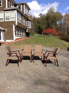 4 chairs Sold!