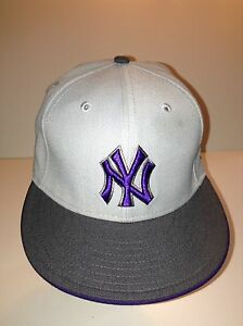 New York Yankees 59Fifty Flat Brim Size 7 1/4