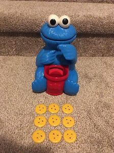 Cookie Monster with 9 cookies $10