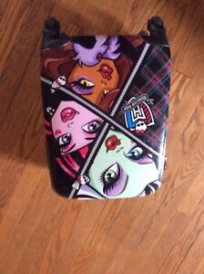 Monster high carry on and brand new doll