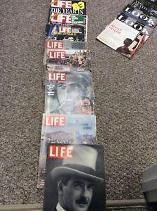 Magazines very old.