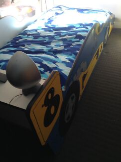 Single bed, kids car bed