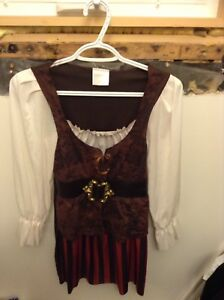 Girl Pirate Halloween costume Size 7-8