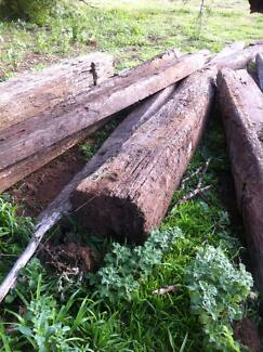 SLEEPERS ** GREAT CONDITION - UPCYCLED RAILWAY SLEEPERS - !! Sydney City Inner Sydney Preview