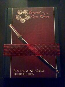 Legend of the five rings 3rd edition RPG