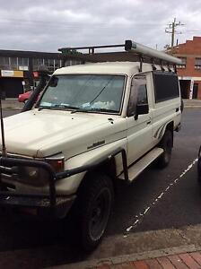 2006 78 series Toyota Troopy  LandCruiser TD 4.2EFI St Kilda East Glen Eira Area Preview