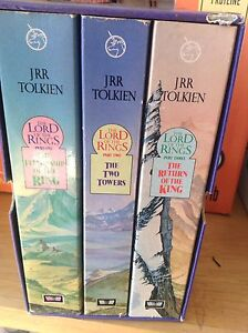 Lord of the rings boxed set trilogy Tolkien