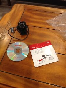 Microsoft webcam. Hardly used
