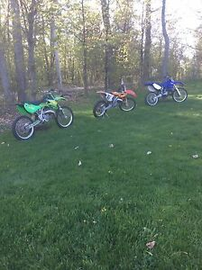 Mint clean MX 125cc 2 stroke collection, with ownership!