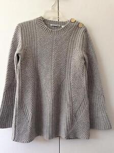 As New Country Road Grey  100% wool Jumper - medium Watson North Canberra Preview