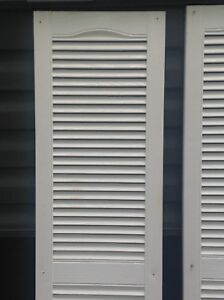 Exterior Window shutters 14 1/2 x 60 inches