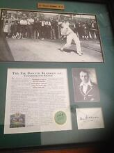 Sir Donald Bradman Signed and Framed (Limited Edition) Print Paddington Brisbane North West Preview