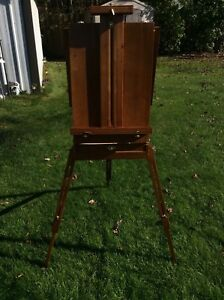 Folding painters easel