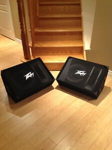 PV 15m two-way floor monitors  $400 for both