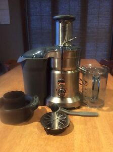 Breville dual disc juicer and purée