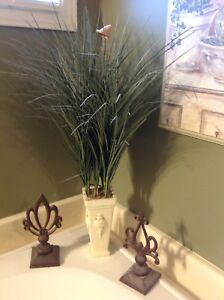 Plant and sconces