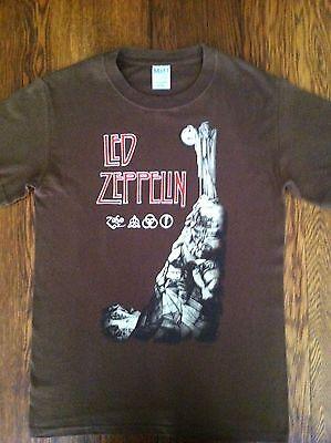 Led Zeppelin IV T-Shirt - Size S - Runes - M&O Knits