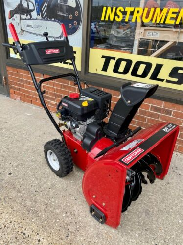 "*Craftsman 247.889571 24"" Snow Blower W/ Electric Start *Local Pickup 08753* BIN"