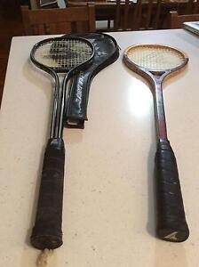 Two squash rackets Kangaroo Point Brisbane South East Preview