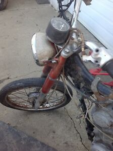 Parting out Honda CL/CB100- Parts/ Project