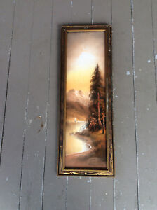 Antique William Henry Chandler (1854-1928) Pastel Painting