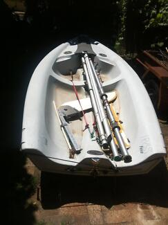 RS Feva sailing dinghy