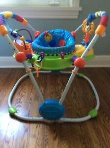 Baby items - Exercauser, Activity Table, Mobile