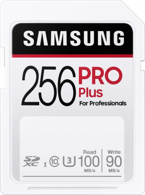Samsung - PRO Plus SDXC Full size SD Card 256GB